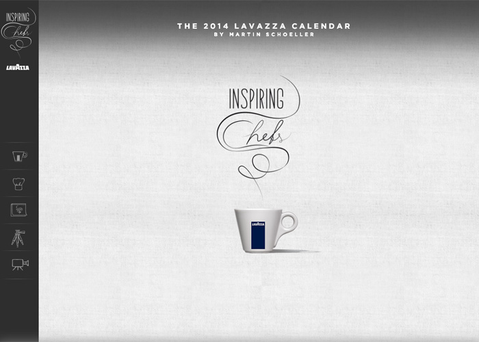 The 2014 Lavazza Calendar