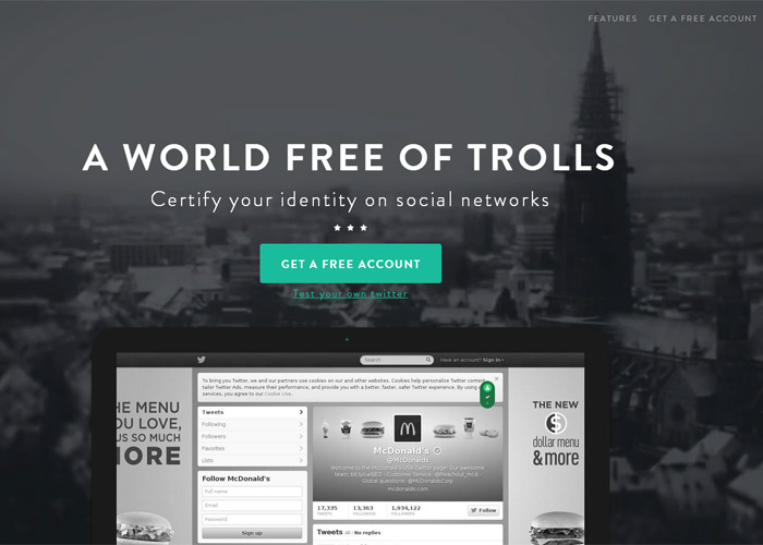 Usertify - World free of trolls