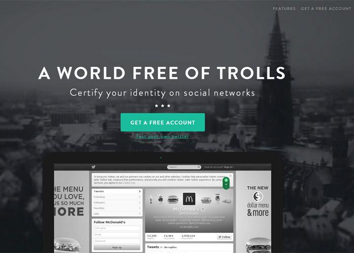 Usertify - World free of trolls