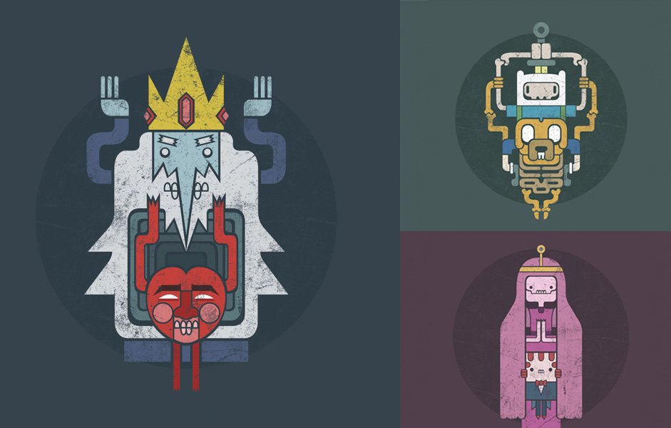 Design An Adventure Time Character : Adventure time remix