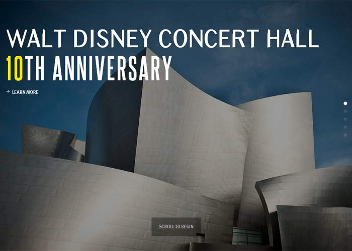 Walt Disney Concert Hall 10th Anniversary
