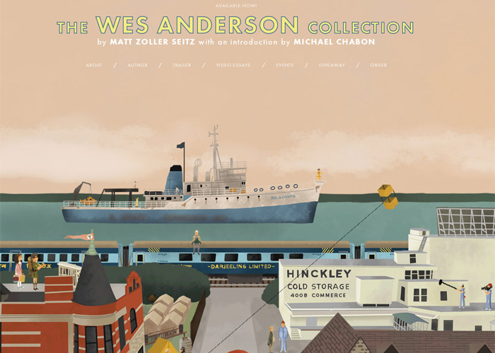 the wes anderson collection awwwards sotd. Black Bedroom Furniture Sets. Home Design Ideas