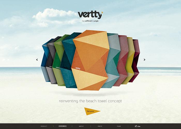 Vertty - design beach towels