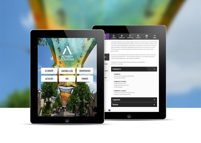 Altarea Cogedim Ipad Annual report