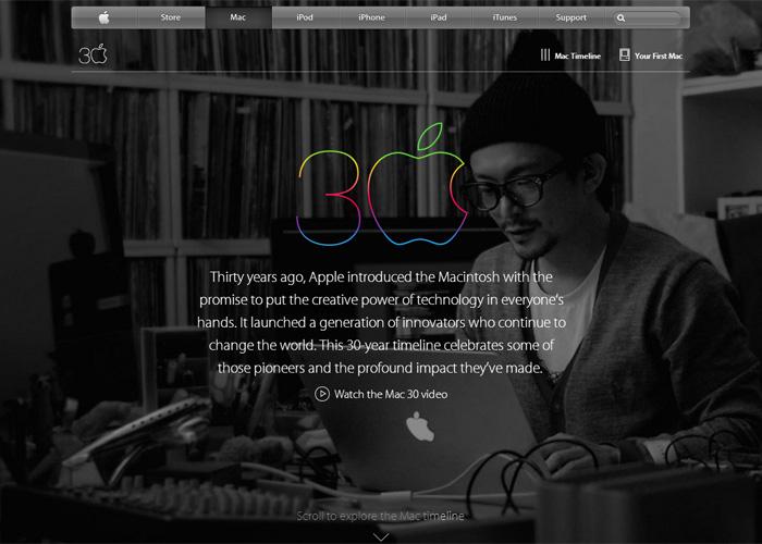 Apple - Thirty Years of Mac