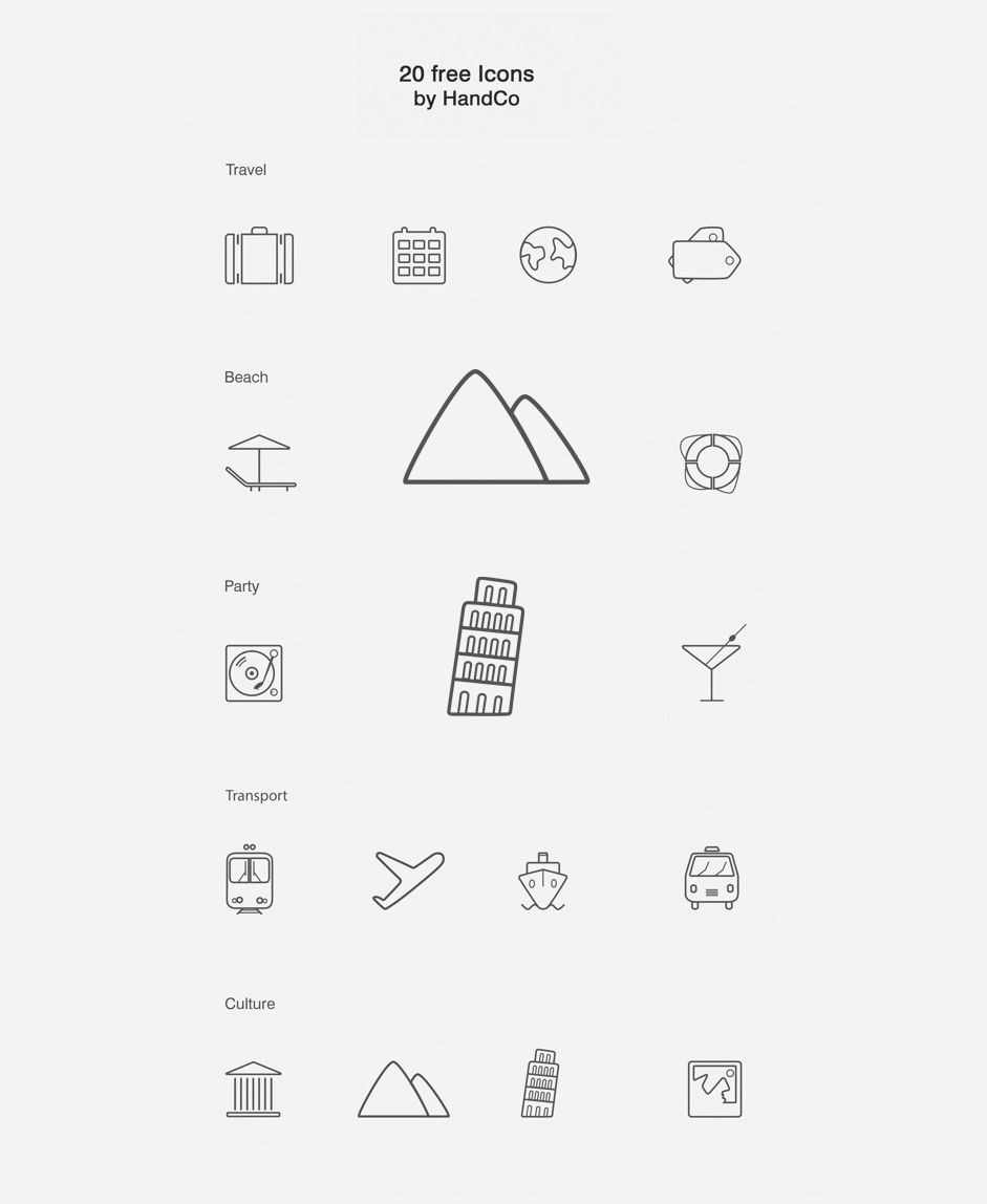 Free Vector Icons