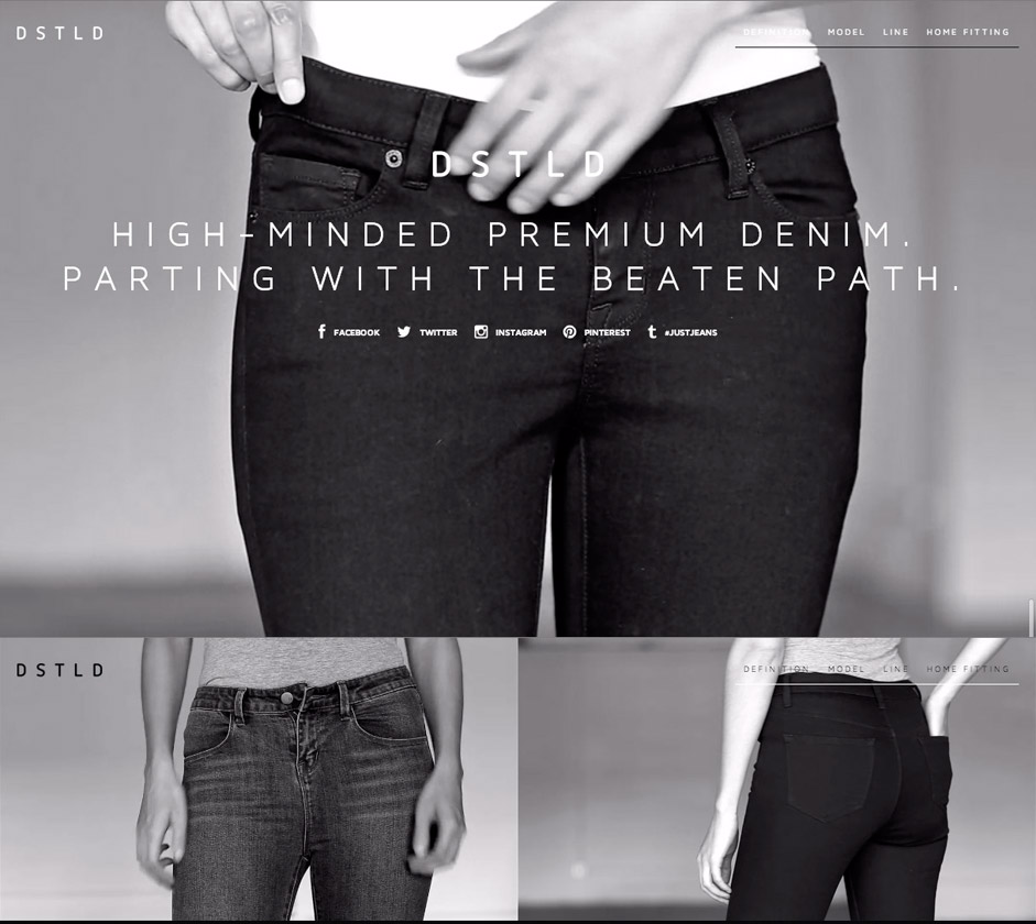 MenuVISIT SITE DSTLD Jeans Preview