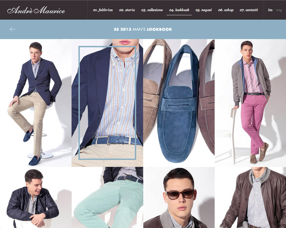 20 Creative Solutions for Fashion Websites
