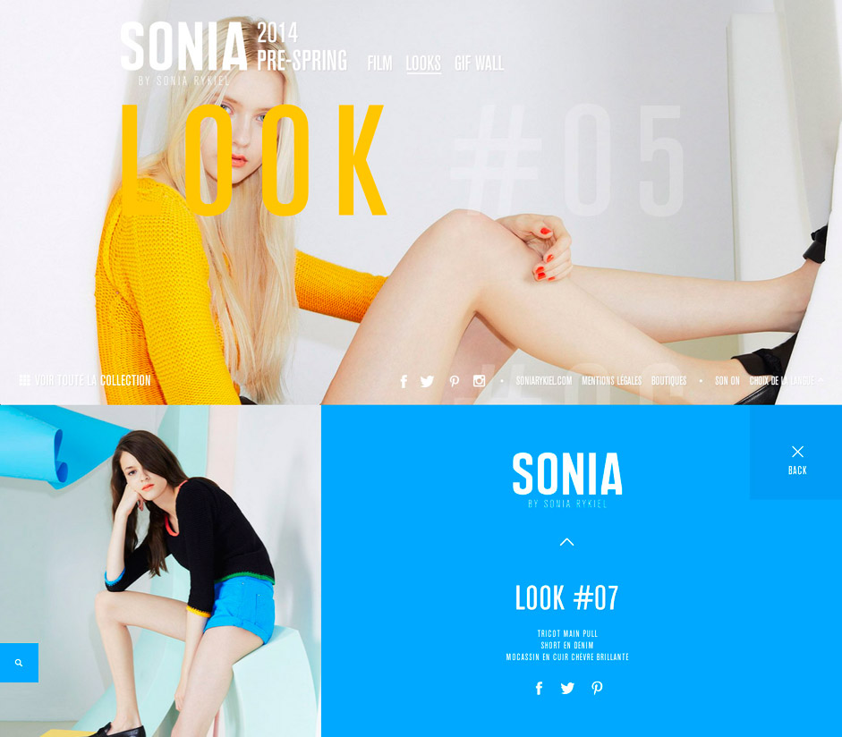 SONIA BY - PreSpring 2014