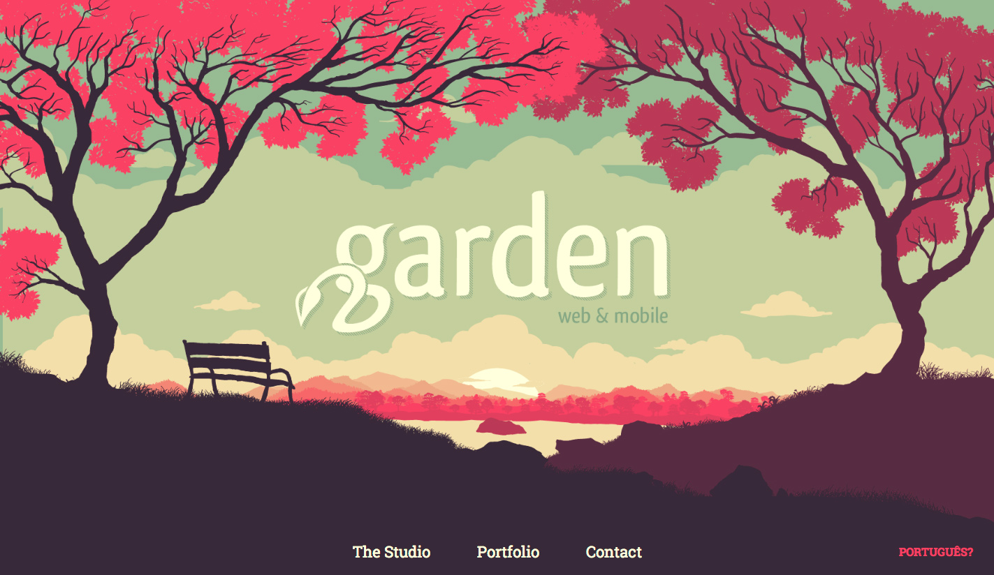 we are garden a studio focused on creating digital experiences we employ all our knowledge to help our clients build their brands through interactivity