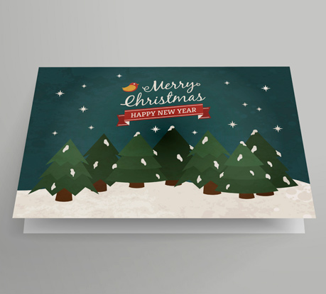 10 new xmas cards from freepik and more free resources for your christmas projects - Photo Xmas Cards