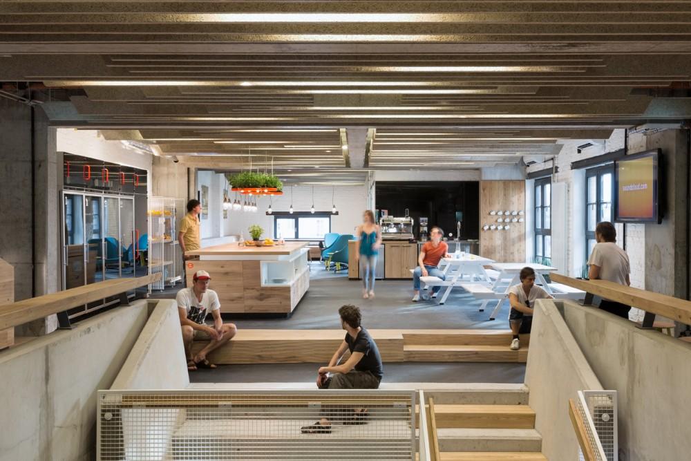soundcloud headquarter in berlin germany. Black Bedroom Furniture Sets. Home Design Ideas