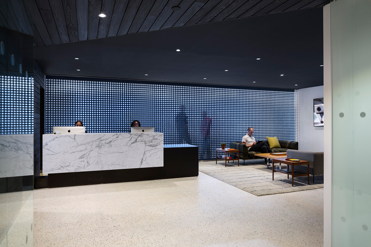 Droga5 wall street headquarters for Office design york