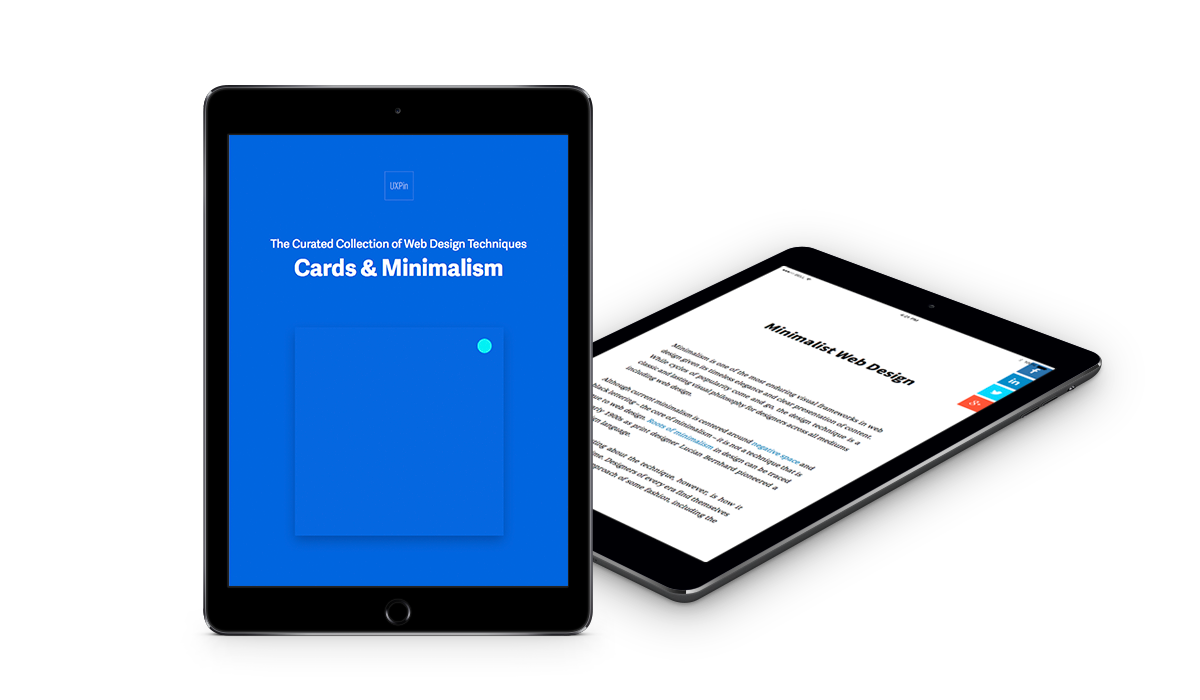 Free eBook: The Curated Collection of Web Design Techniques (Cards & Minimalism)
