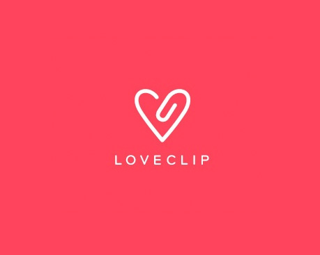 loveclip - Logo Designs Ideas