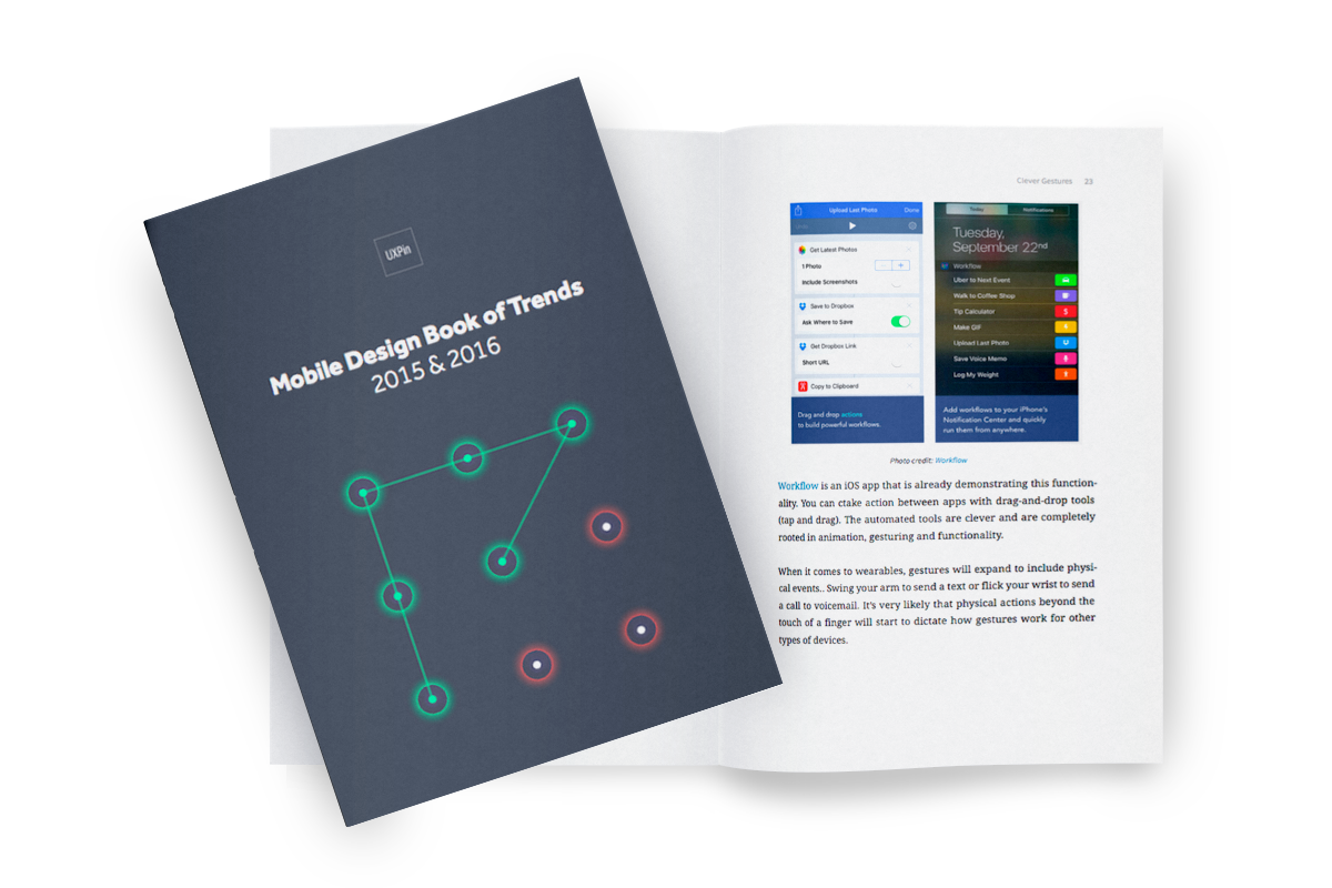 Free e-book: Mobile Design Trends 2015 & 2016