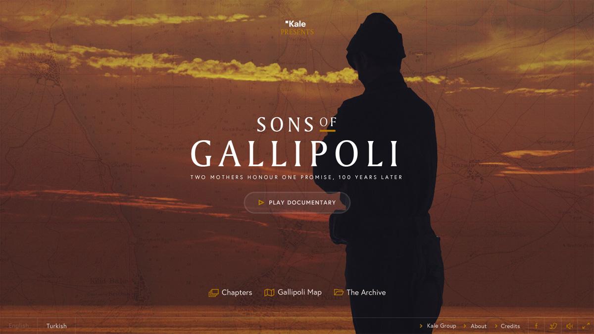 Sons of Gallipoli by Jam3 winner of November's SOTM!
