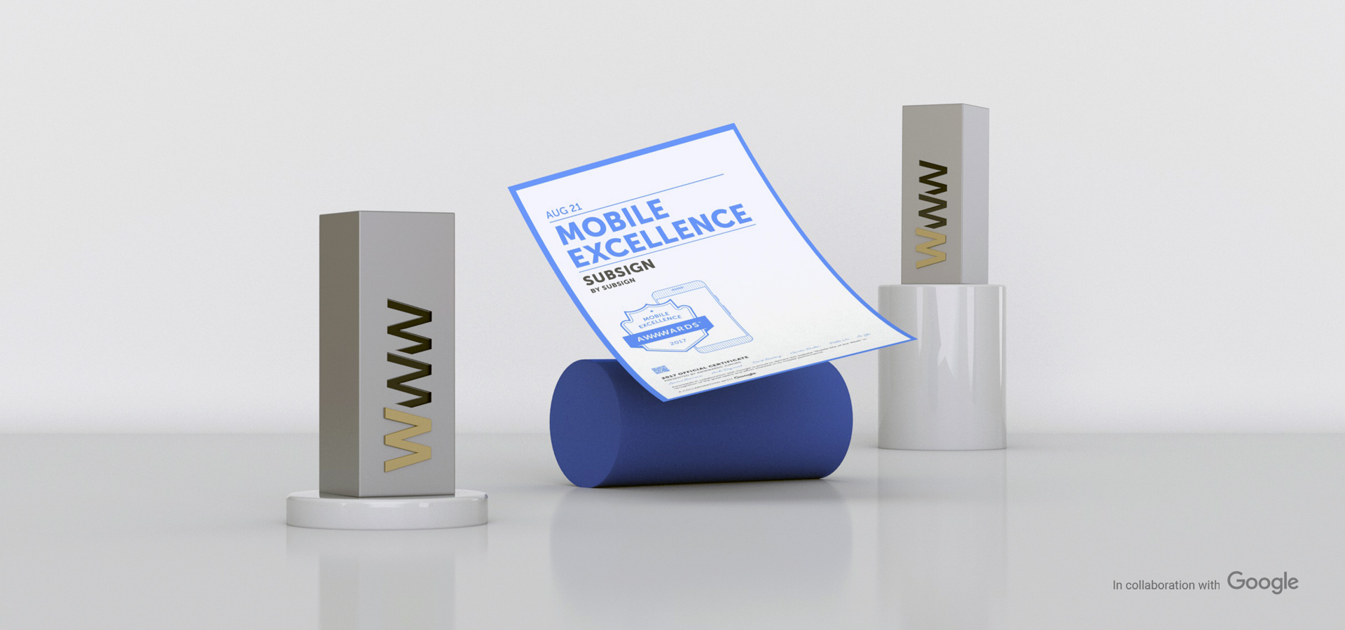 Google and Awwwards Present the Mobile Excellence Award