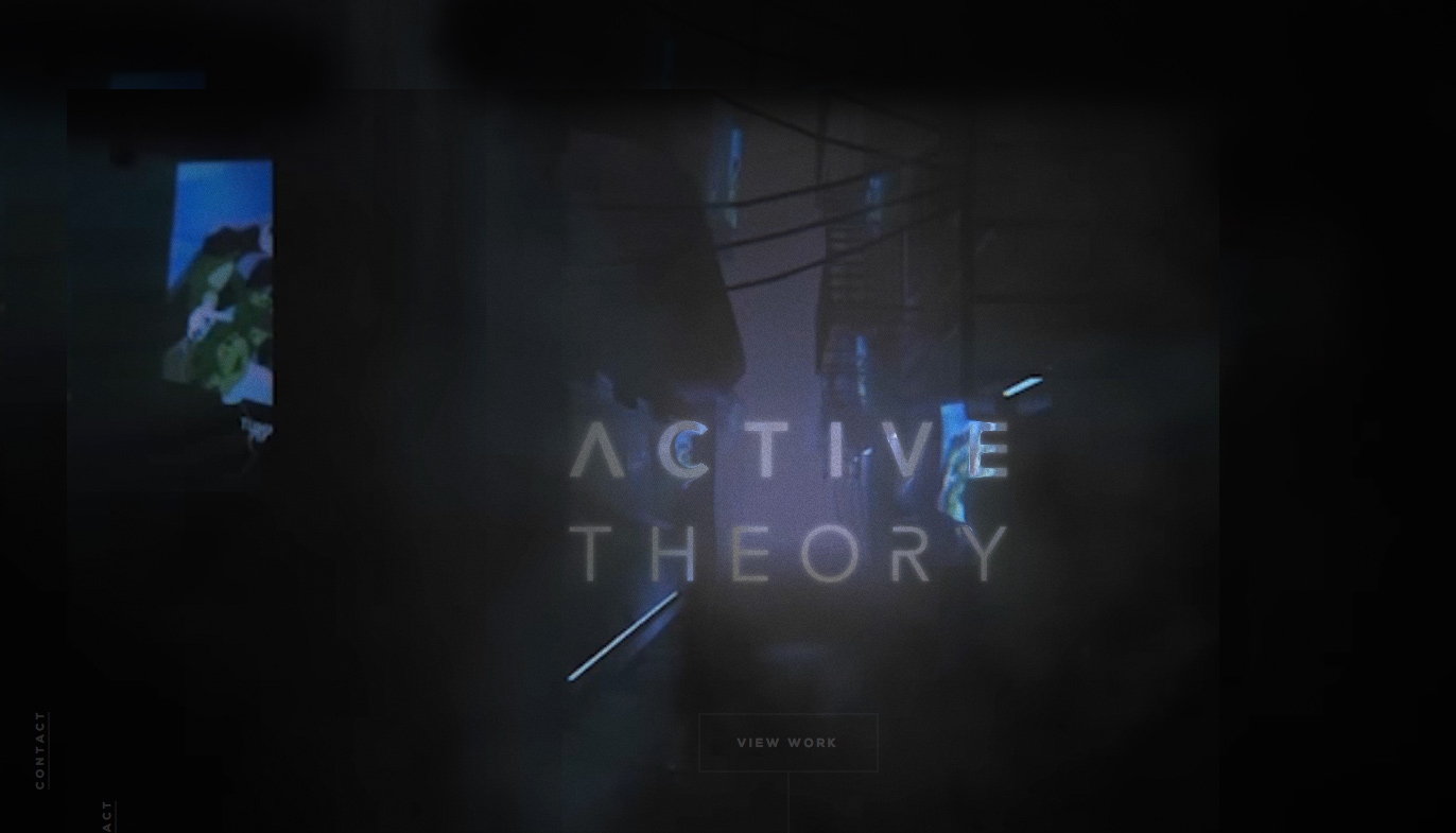 Active Theory v4 wins January 2018 Site of the Month