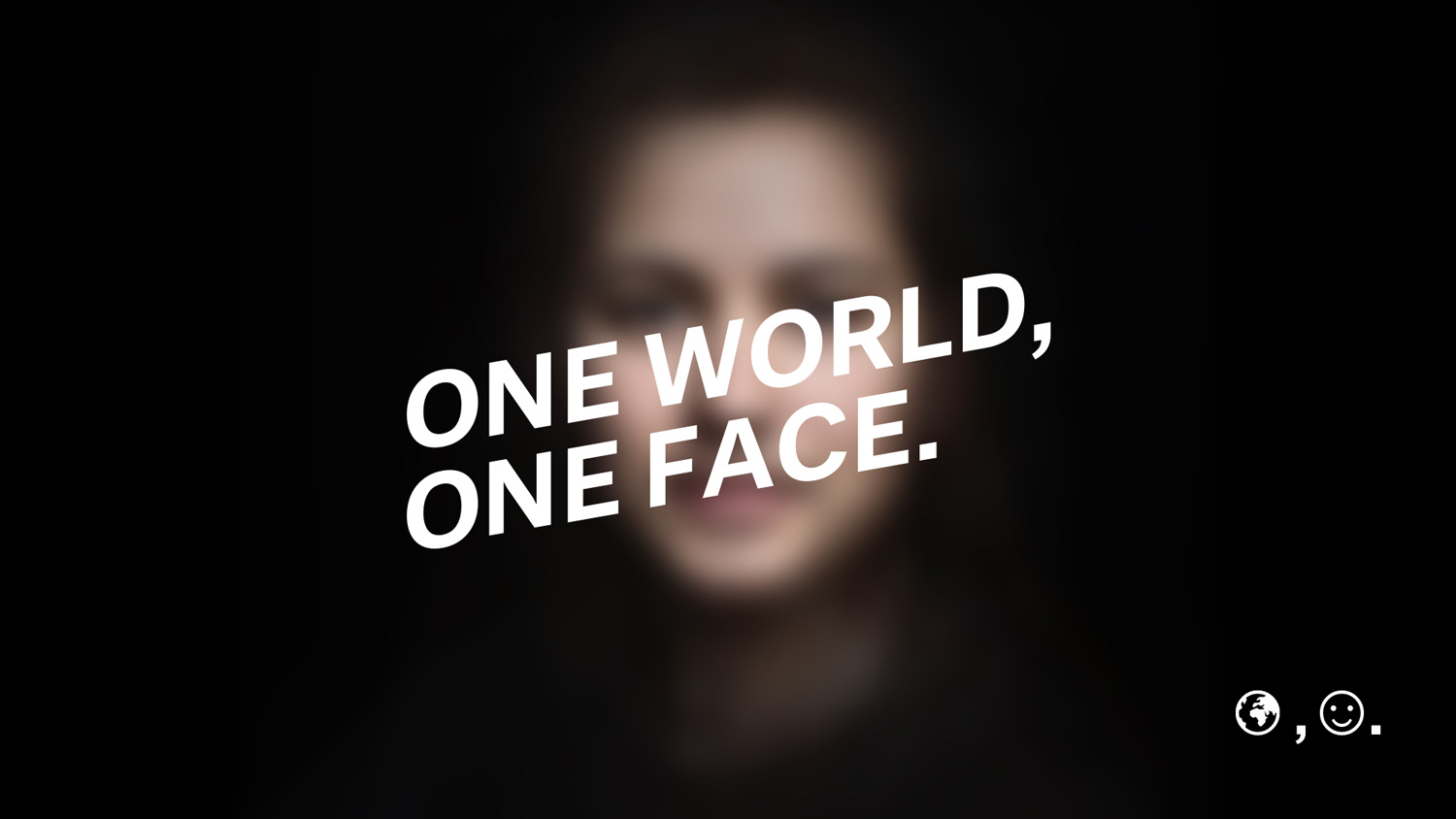 Creativity and Mobile Performance: One World, One Face by Adoratorio