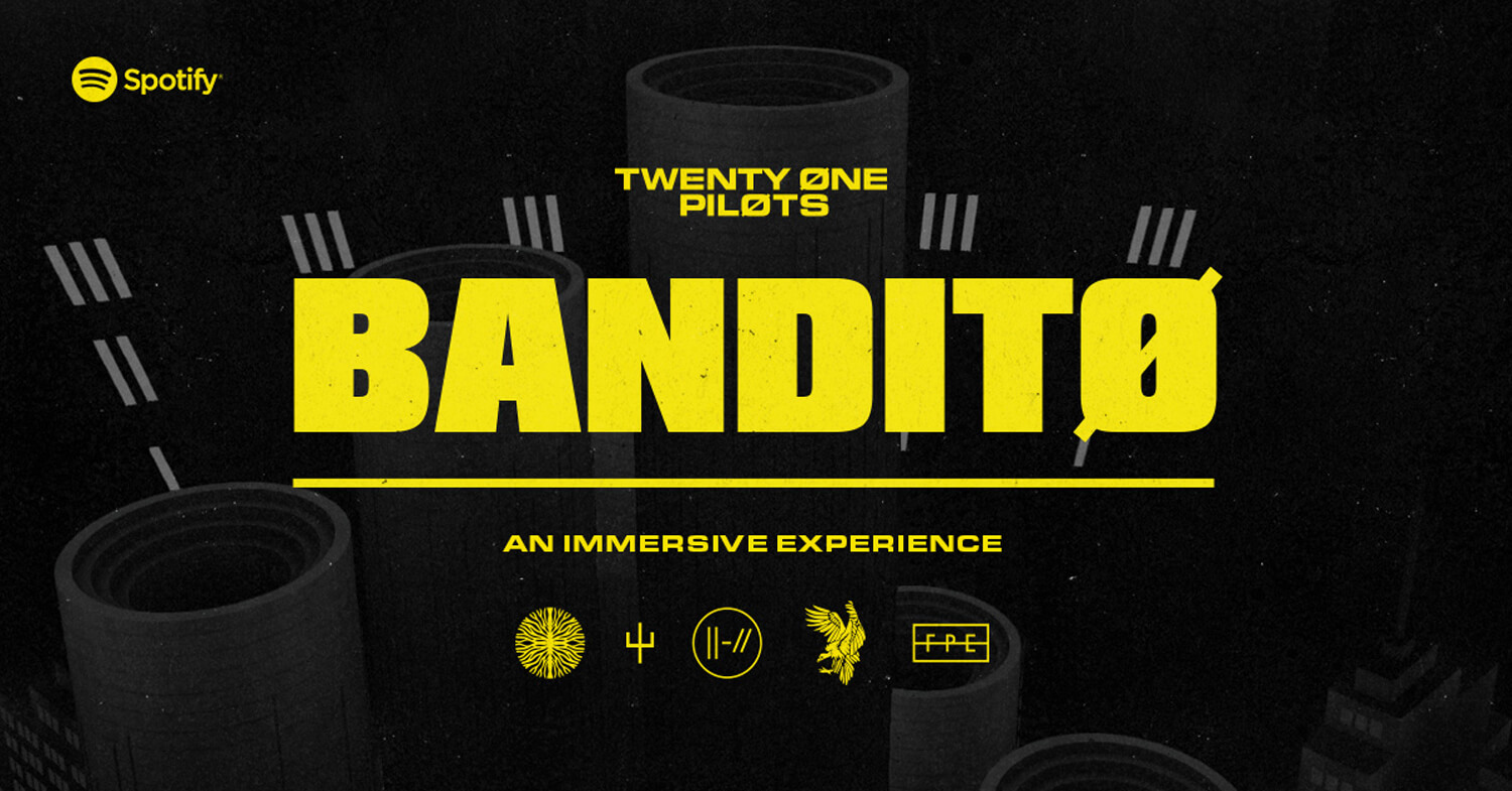 Twenty Øne Piløts - Banditø from Resn Wins Site of the Month December