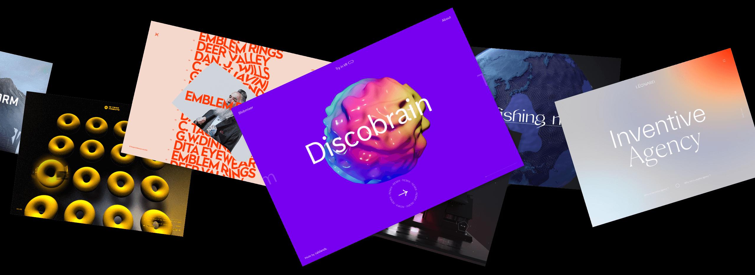 30 Experimental WebGL Websites