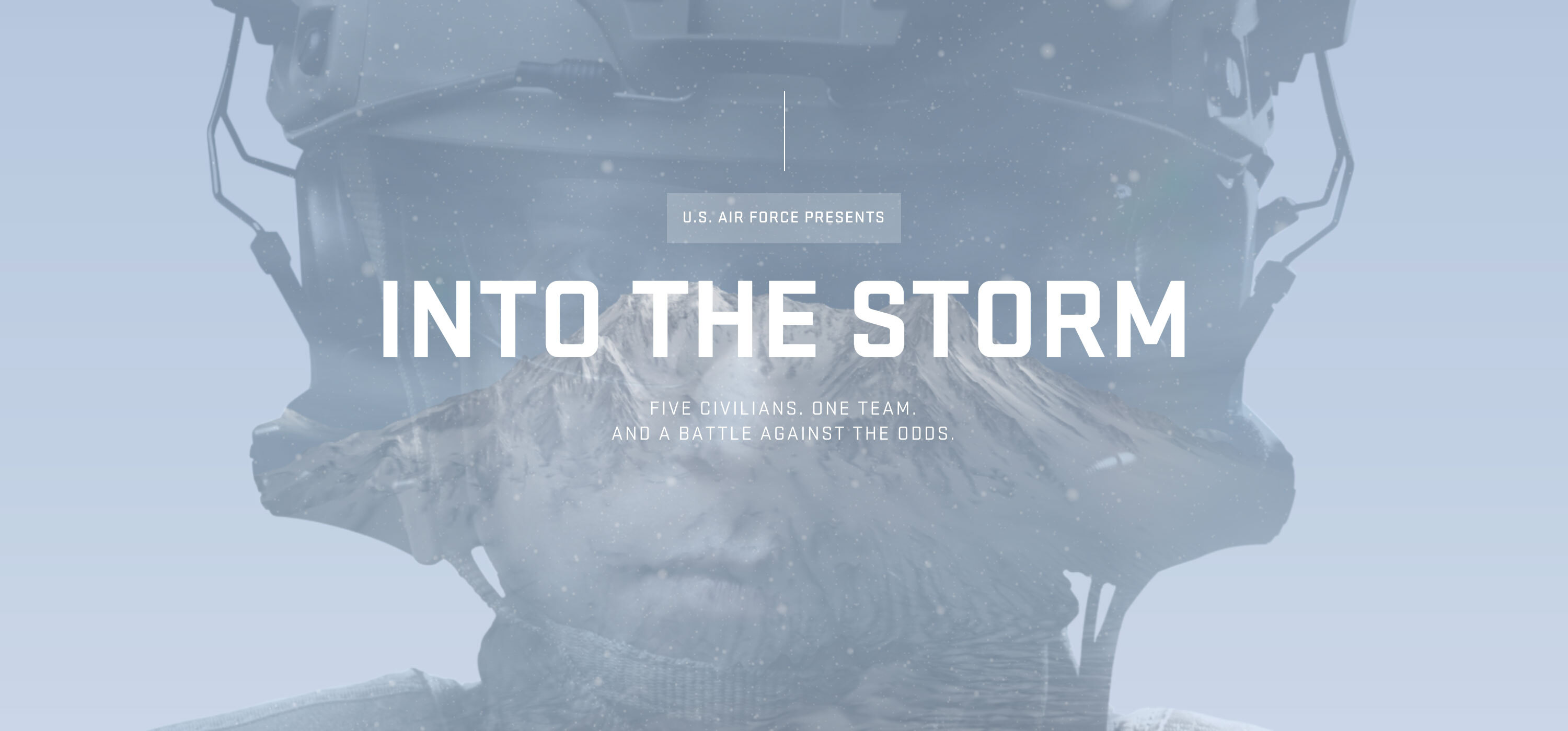 U.S. Air Force 'Into The Storm' by MediaMonks wins Site of the Month March 2021