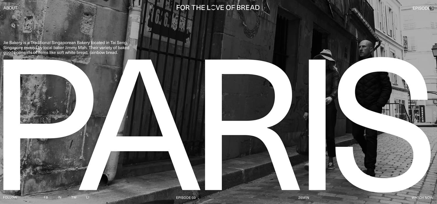 Case Study: For the Love of Bread by Nightjar