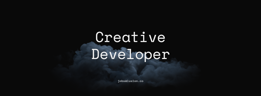 Creative Developer