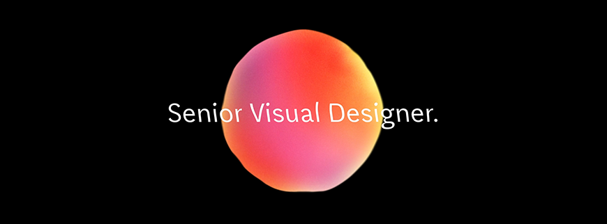 Senior Visual Designer