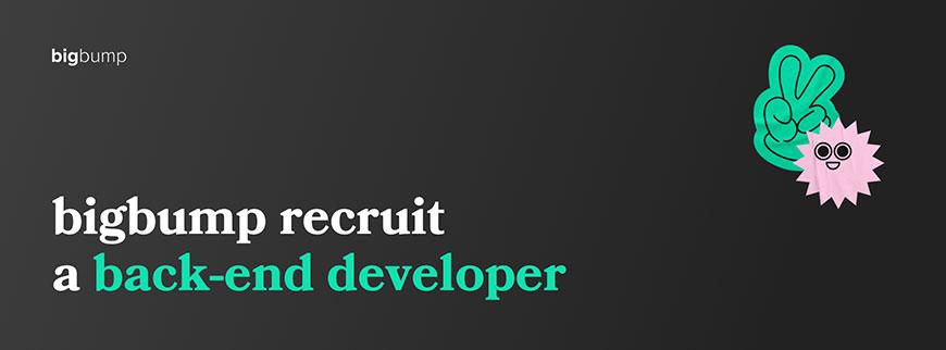 Développeur back-end H/F