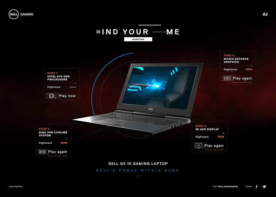 Dell's Power Within Game