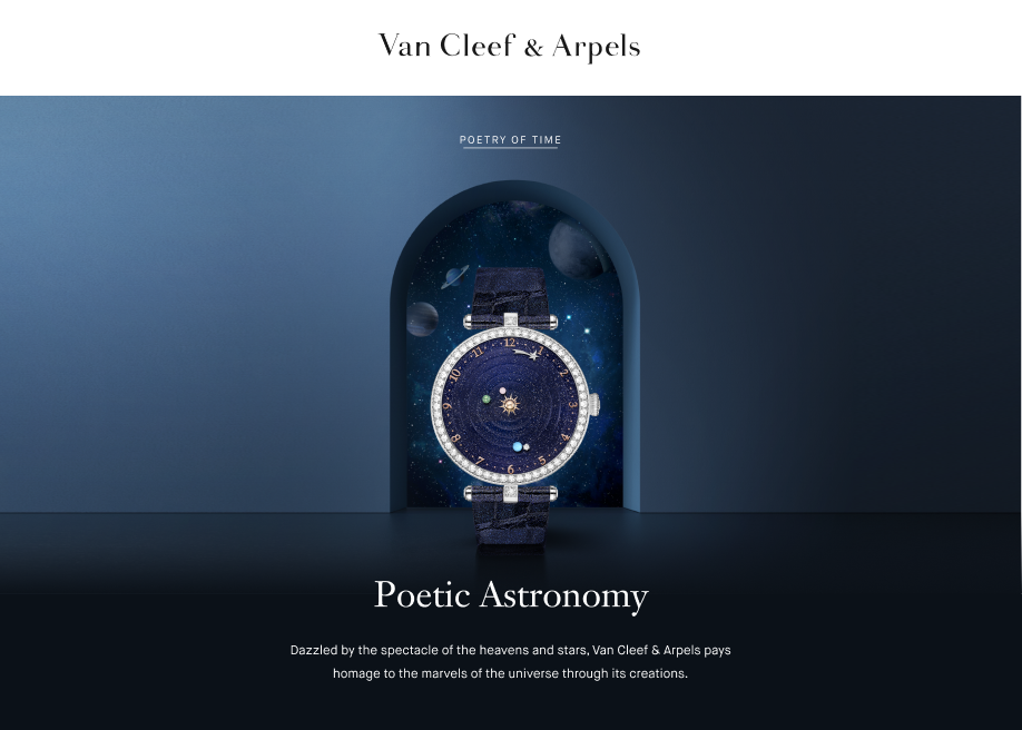 Van Cleef & Arpels Poetic Astronomy