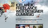 Freelance Web Designer gummisig