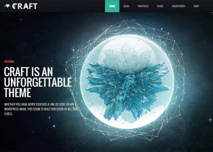 Craft - Responsive & Retina Ready WordPress Theme