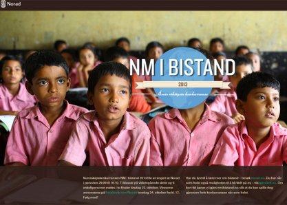 NM i Bistand 2013