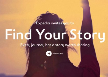 Expedia: Find Your Story