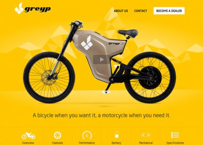 Greyp G-12 Electric Bicycle
