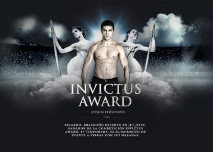 Invictus Award by Paco Rabanne