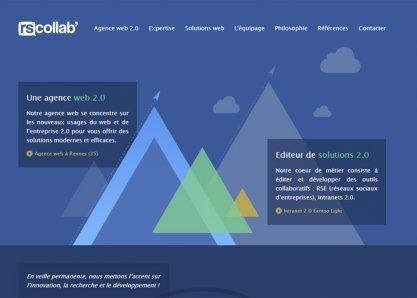 Rscollab, agence web 2.0 Rennes