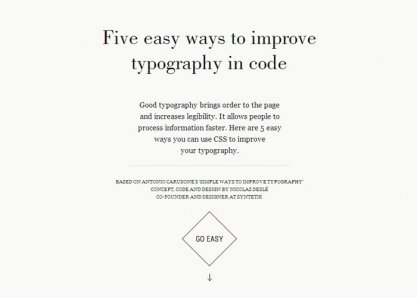 Five easy ways to improve typography in code
