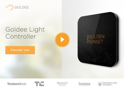 Goldee - Smart Light Controller