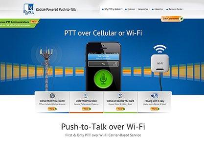 Kodiak-Powered Push-to-Talk