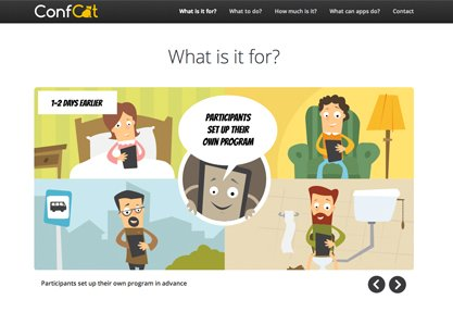 ConfCat - Your conference for all mobile devices