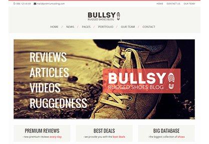 Bullsy - A Rugged Blog