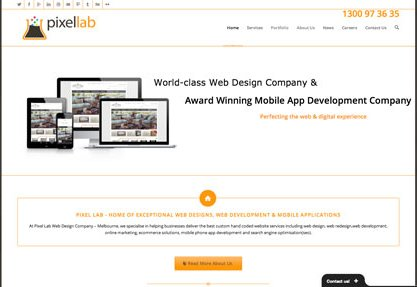 Pixel Lab Web Design Company