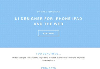 Sake Tijmersma UI Designer