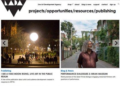 Live Art Development Agency