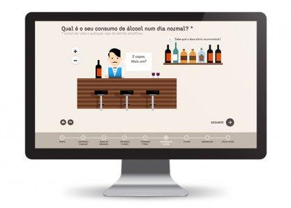 Agir Para Prevenir - Interactive Website
