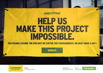 Greenpeace vs Killstarter